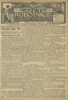 Gazeta Robotnicza, 1910, R. 20, nr 52