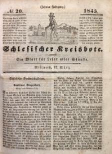 Schlesischer Kreisbote, 1845, Jg. 10, No. 20
