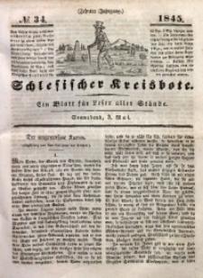Schlesischer Kreisbote, 1845, Jg. 10, No. 34