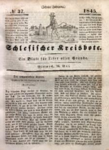 Schlesischer Kreisbote, 1845, Jg. 10, No. 37
