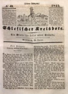 Schlesischer Kreisbote, 1845, Jg. 10, No. 49