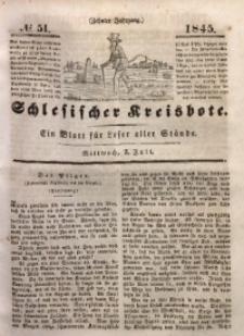 Schlesischer Kreisbote, 1845, Jg. 10, No. 51