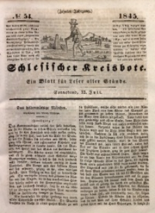 Schlesischer Kreisbote, 1845, Jg. 10, No. 54