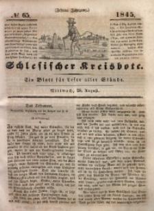 Schlesischer Kreisbote, 1845, Jg. 10, No. 65