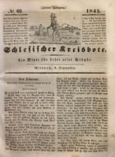 Schlesischer Kreisbote, 1845, Jg. 10, No. 69