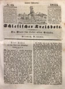 Schlesischer Kreisbote, 1845, Jg. 10, No. 85