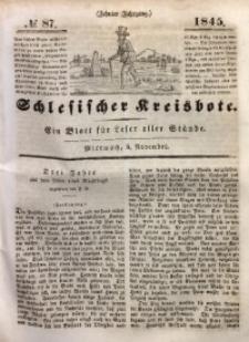 Schlesischer Kreisbote, 1845, Jg. 10, No. 87