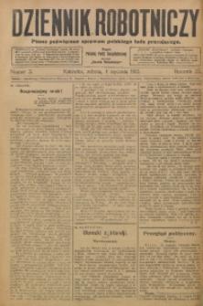 Dziennik Robotniczy, 1913, R. 23, nr 3