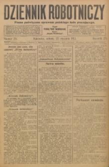 Dziennik Robotniczy, 1913, R. 23, nr 20