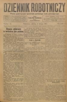 Dziennik Robotniczy, 1913, R. 23, nr 32
