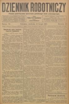 Dziennik Robotniczy, 1913, R. 23, nr 39