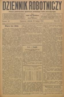 Dziennik Robotniczy, 1913, R. 23, nr 40