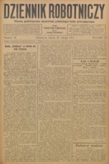 Dziennik Robotniczy, 1913, R. 23, nr 41