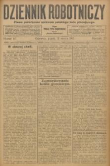 Dziennik Robotniczy, 1913, R. 23, nr 67