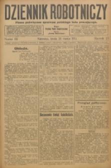 Dziennik Robotniczy, 1913, R. 23, nr 69
