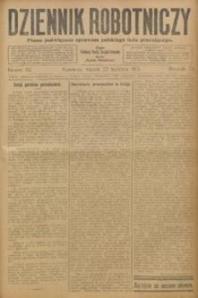 Dziennik Robotniczy, 1913, R. 23, nr 92
