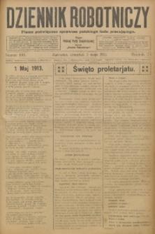 Dziennik Robotniczy, 1913, R. 23, nr 100