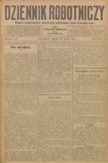Dziennik Robotniczy, 1913, R. 23, nr 112