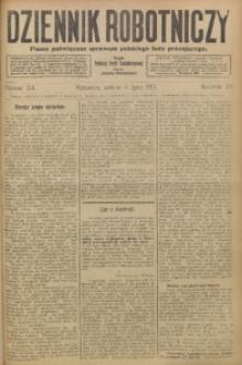 Dziennik Robotniczy, 1913, R. 23, nr 154