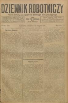 Dziennik Robotniczy, 1913, R. 23, nr 188