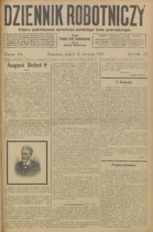 Dziennik Robotniczy, 1913, R. 23, nr 189