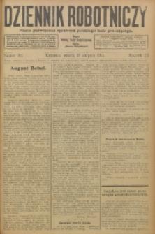 Dziennik Robotniczy, 1913, R. 23, nr 192