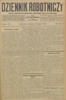Dziennik Robotniczy, 1913, R. 23, nr 194