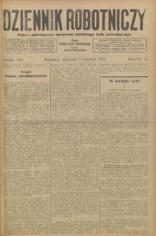 Dziennik Robotniczy, 1913, R. 23, nr 209