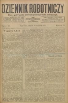Dziennik Robotniczy, 1913, R. 23, nr 210
