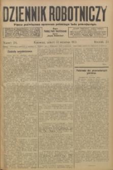 Dziennik Robotniczy, 1913, R. 23, nr 214