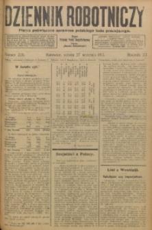 Dziennik Robotniczy, 1913, R. 23, nr 226