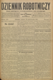 Dziennik Robotniczy, 1913, R. 23, nr 252