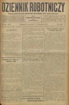 Dziennik Robotniczy, 1913, R. 23, nr 265