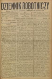 Dziennik Robotniczy, 1913, R. 23, nr 279