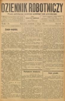 Dziennik Robotniczy, 1914, R. 24, nr 26
