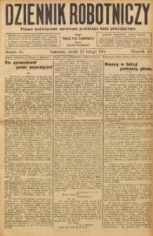 Dziennik Robotniczy, 1914, R. 24, nr 45
