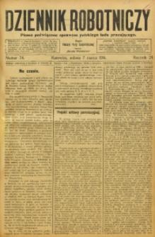 Dziennik Robotniczy, 1914, R. 24, nr 54