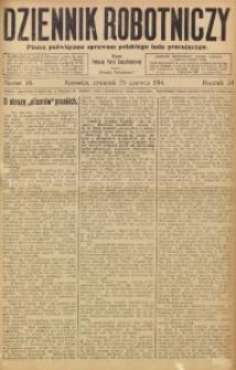 Dziennik Robotniczy, 1914, R. 24, nr 141