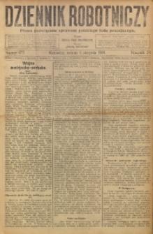 Dziennik Robotniczy, 1914, R. 24, nr 172