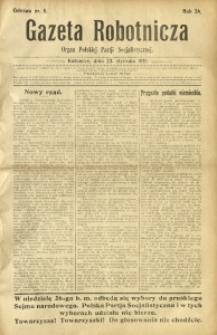 Gazeta Robotnicza, 1919, R. 24, nr 6