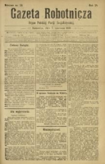 Gazeta Robotnicza, 1919, R. 24, nr 59