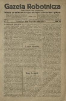 Gazeta Robotnicza, 1920, R. 25, nr 7