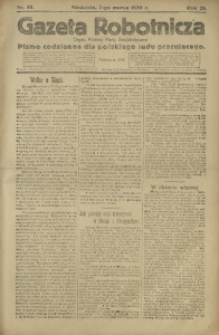 Gazeta Robotnicza, 1920, R. 25, nr 55