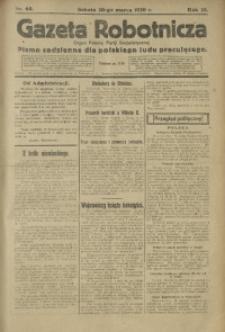 Gazeta Robotnicza, 1920, R. 25, nr 65