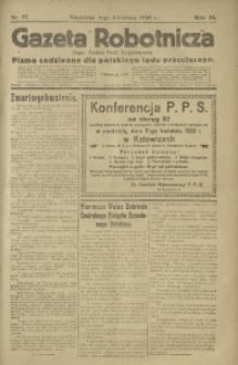 Gazeta Robotnicza, 1920, R. 25, nr 77