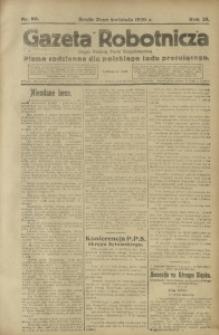 Gazeta Robotnicza, 1920, R. 25, nr 90