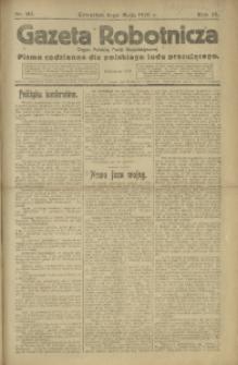 Gazeta Robotnicza, 1920, R. 25, nr 101