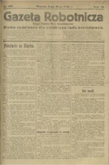 Gazeta Robotnicza, 1920, R. 25, nr 105