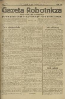 Gazeta Robotnicza, 1920, R. 25, nr 107