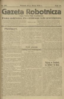 Gazeta Robotnicza, 1920, R. 25, nr 110